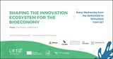 "Invitation to the ""Shaping the innovation ecosystem for the Bioeconomy"" webinars"